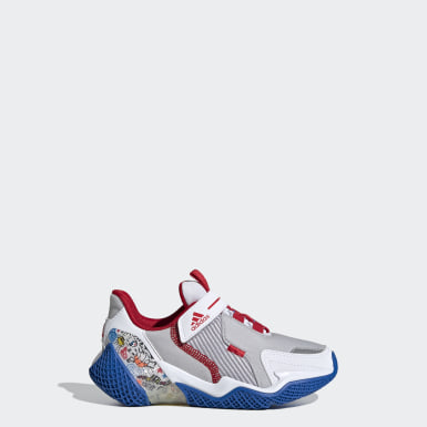 Kids Running White 4UTURE Runner Shoes