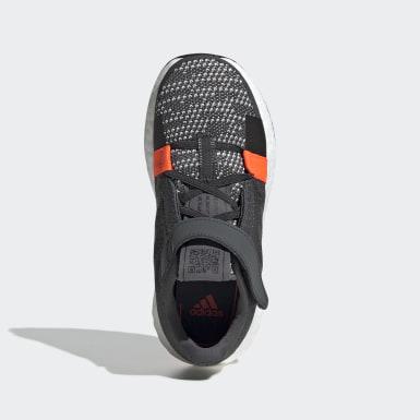Kids Running Grey Senseboost GO Shoes
