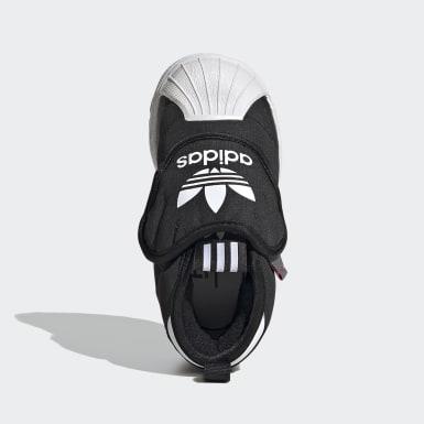 Infant & Toddler Originals Black Superstar 360 Boots