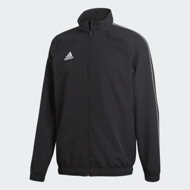 Men Training Black Core 18 Presentation Jacket