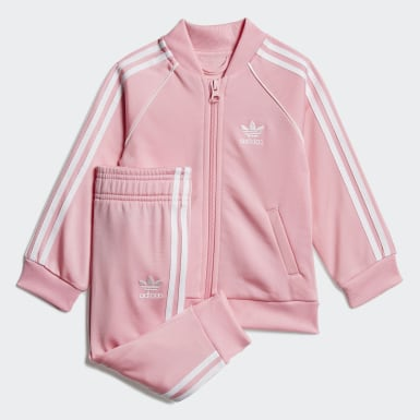 Girls Originals Pink SST Track Suit