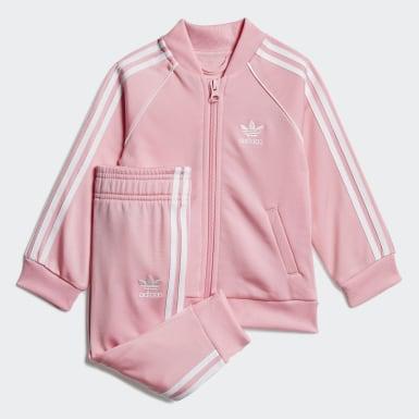 Dievčatá Originals ružová Tepláková súprava SST