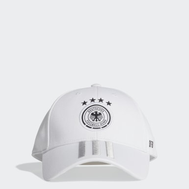 Fußball DFB Baseball Kappe Weiß