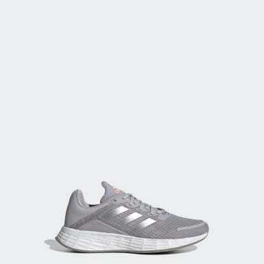 Kids Running Grey Duramo SL Shoes
