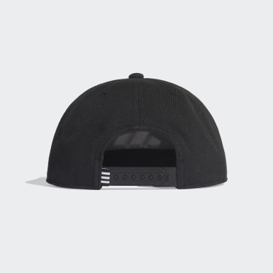 Training Black Snapback Logo Cap