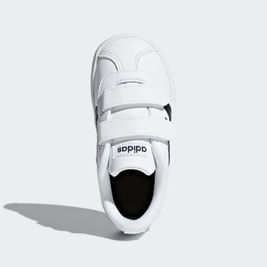 Infant & Toddler Skateboarding White VL Court 2.0 Shoes