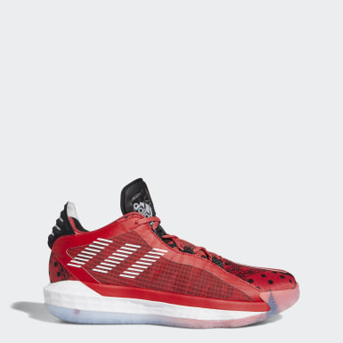Tenis Dame 6 (UNISEX) Rojo Basketball