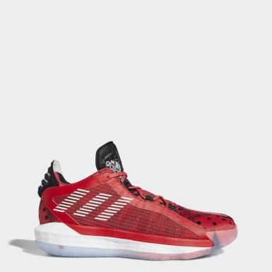 Basketbal červená Tenisky Dame6