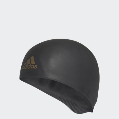 Swimming Black Adizero XX Competition Silicone Swim Cap