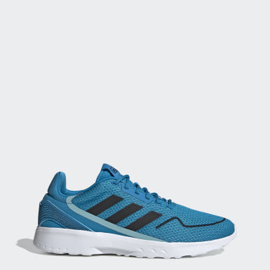 Men Sport Inspired Blue Nebzed Shoes
