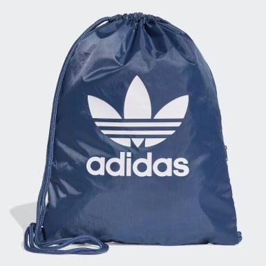 Sportowa torba-worek Trefoil Niebieski