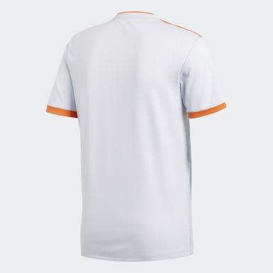 Camisola Alternativa de Espanha Azul Homem Futebol