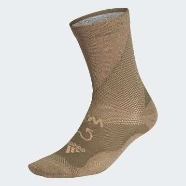Chaussettes Wood Wood Run Vert Originals