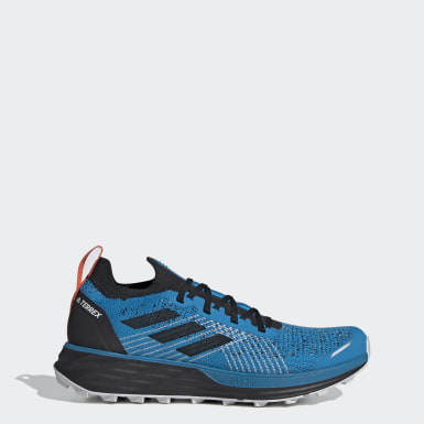 Men TERREX Blue Terrex Two Parley Trail Running Shoes