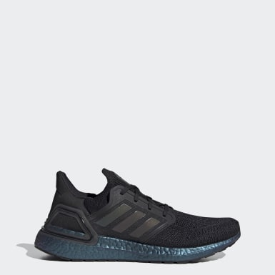 Men Running Black Ultraboost 20 Shoes