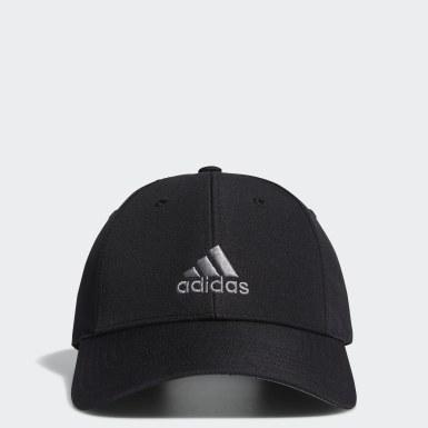 Boys Golf Black Performance Cap