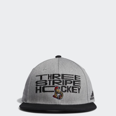 Men Training Multicolor Ottawa Senators Three Stripe Hockey Snapback Cap