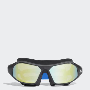 Yüzme Mavi Persistar 180 Mask Mirrored Yüzücü Gözlüğü