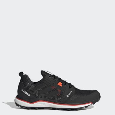 Sapatos de Trail Running GORE-TEX TERREX Agravic Preto Mulher Desportos De Inverno