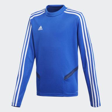 Kinderen Training blauw Tiro 19 Training Sweater