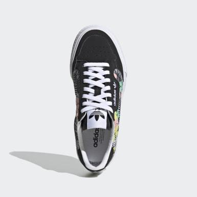 Chaussure Continental Vulc noir Adolescents Originals
