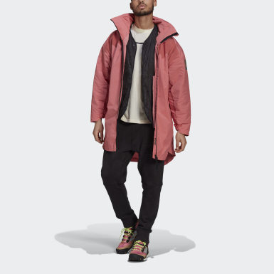 Parka MYSHELTER 4IN1 Rose Hommes City Outdoor