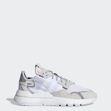 Women Originals White Nite Jogger Shoes