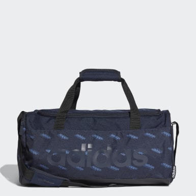 Linear Logo Graphic Duffel Small