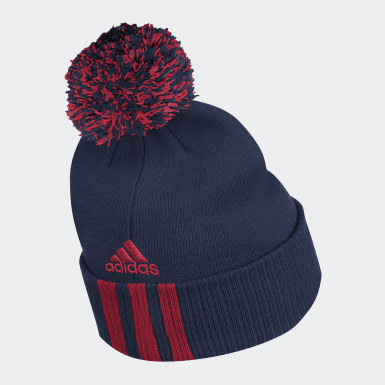 Men Training Multicolor Canadiens Cuffed Knit Pom Beanie