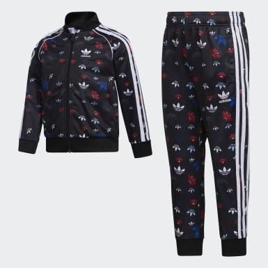 Boys Originals Black SST Set