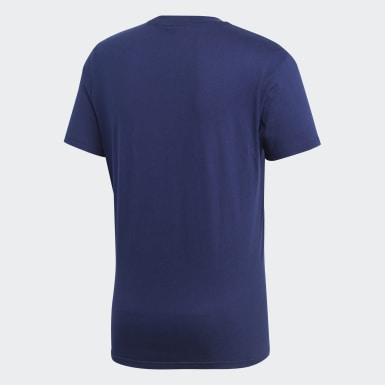 Heren Training Blauw Core 18 T-shirt
