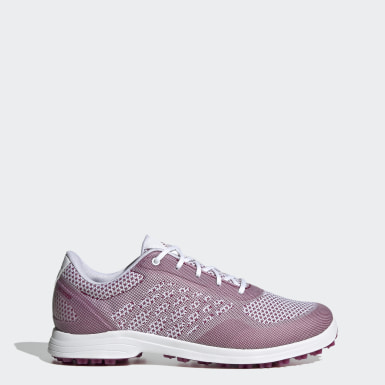 Women Golf White Adipure Sport 3 Golf Shoes