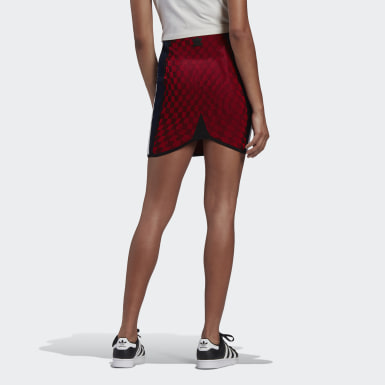 Women's Originals Red Paolina Russo Mini Skirt