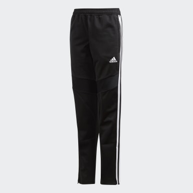 Kids Training Black Tiro 19 Polyester Pants
