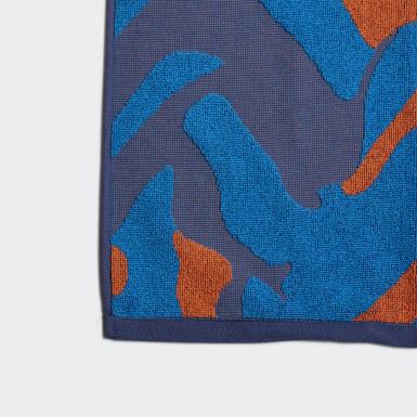 Asciugamano adidas Blu Nuoto