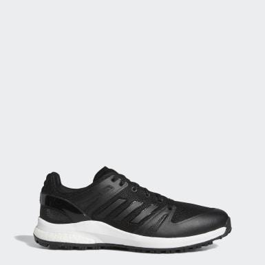 Sapatos de Golfe Sem Bicos Wide EQT Preto Golfe