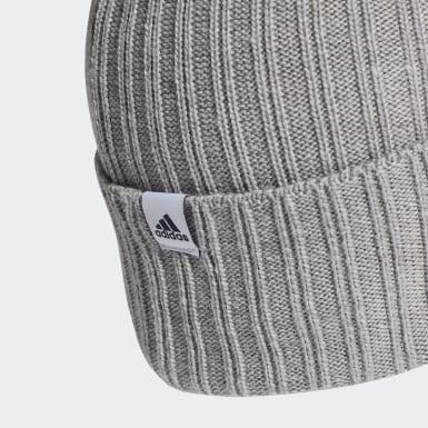Running 3-Streifen Mütze Grau