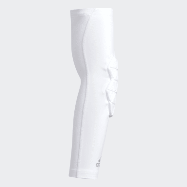 Men's Training White Alphaskin Force Padded Elbow Sleeve