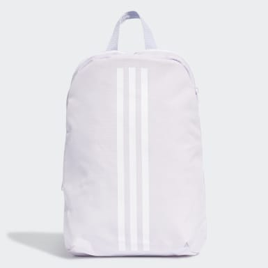 Kids Training Purple Classic 3-Stripes Backpack