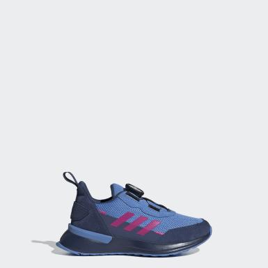 Chaussure RapidaRun Boa Bleu Enfants Running