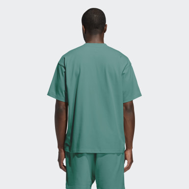 T-shirt Pharrell Williams Basics (Non genré) Turquoise Originals
