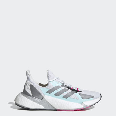 Women Running White X9000L4 Shoes