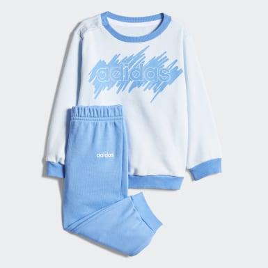 Conjunto Linear Felpa Francesa Azul Niño Training