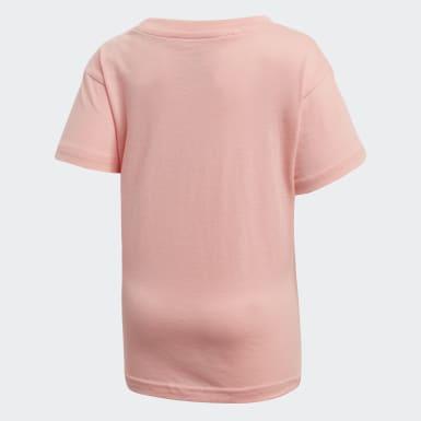 Camiseta Trefoil (UNISEX) Rosa Kids Originals