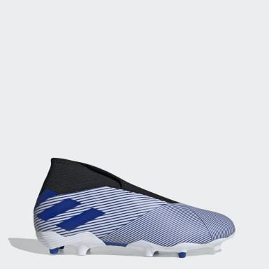 Zapatos de Fútbol Nemeziz 19.3 Terreno Firme Blanco Hombre Fútbol