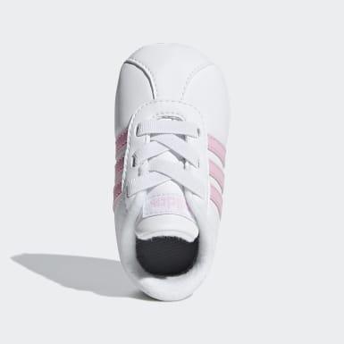 Chaussure VL Court2.0 Blanc Filles Lifestyle