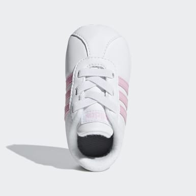 Girls Livsstil Vit VL Court 2.0 Shoes
