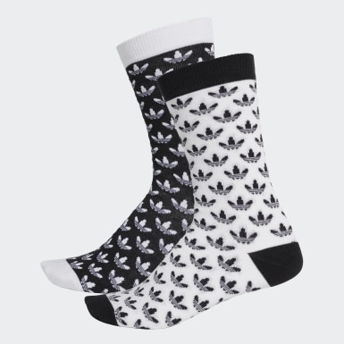 Trefoil Crew Socks 2 Pairs