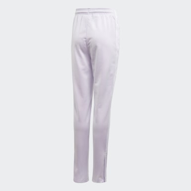Pantalon High-Waisted pourpre Adolescents Originals