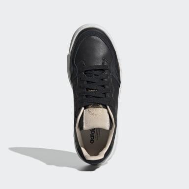 Youth Originals Black Supercourt Shoes